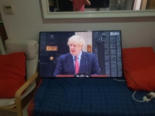 "55"" samsung smart TV For Sale"