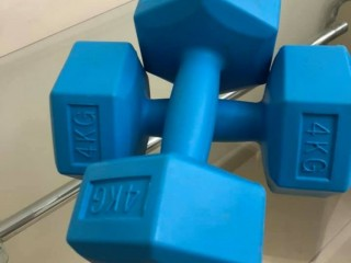 New Dumbbells 5 and 4kg pair For Sale