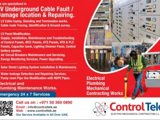 Buried cable fault rectification