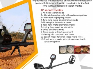 NOKTA IMPACT METAL DETECTOR for sale